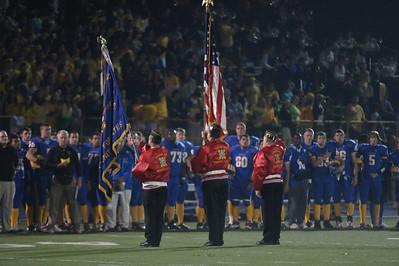 SunsetHS Varsity Football 20101029 vs Aloha-Cheer