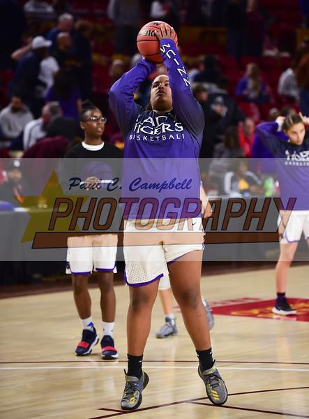 High School Girls Basketball held at Home,  Arizona on 2/21/2018.