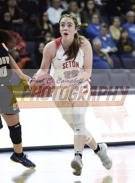 High School Girls Basketball held at Home,  Arizona on 2/23/2018.