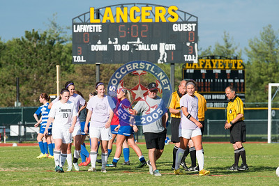 Lafayette Wins On Night Honoring Avery Cantor