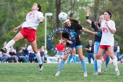 Ursuline Captures First Footprints Match against St. Dominic