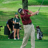 Fitchburg's Jameson Carroll tees off on Tuesday afternoon at Oak Hill Country Club. SENTINEL & ENTERPRISE / Ashley Green