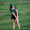 Oakmont's Hailey Davis during the golf match on Tuesday afternoon at Oak Hill Country Club. SENTINEL & ENTERPRISE / Ashley Green