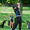 Leominster's Connor Edmands tees off on Tuesday afternoon at Oak Hill Country Club. SENTINEL & ENTERPRISE / Ashley Green