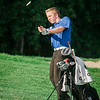Leominster's Zach Duffy during the golf match on Tuesday afternoon at Oak Hill Country Club. SENTINEL & ENTERPRISE / Ashley Green