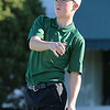 Nashoba sophomore Brody Senior tees off during the match on Tuesday afternoon at Oak Hill Country Club in Fitchburg. SUN/JOHN LOVE