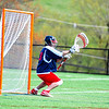 North Middlesex's Jake Baron makes a save in the second half. Nashoba Valley Voice/Ed Niser