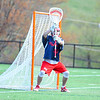 North Middlesex's Jake Baron awaits a shot during Tuesday's loss to Groton-Dunstable. Nashoba Valley Voice/Ed Niser