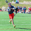 North Middlesex's Jake Fitzgerald makes a pass. Nashoba Valley Voice/Ed Niser