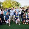 2019 Catonsville High School Boys Lacrosse Seniors and family