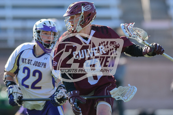 Culver Military Academy vs Mt. St. Joseph 03-26-2014