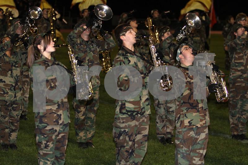 Jackson memorial Marching band  # 3 10-16-10