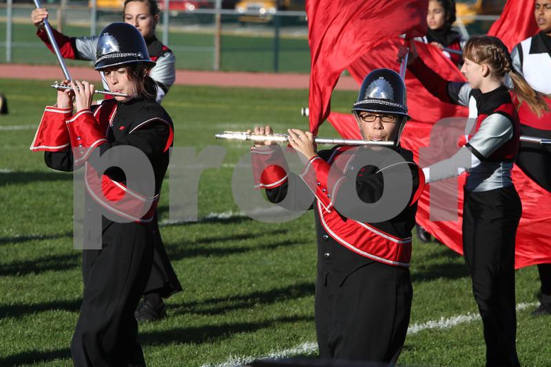 Robbinsville High band #2  10-16-10  Dan Massa