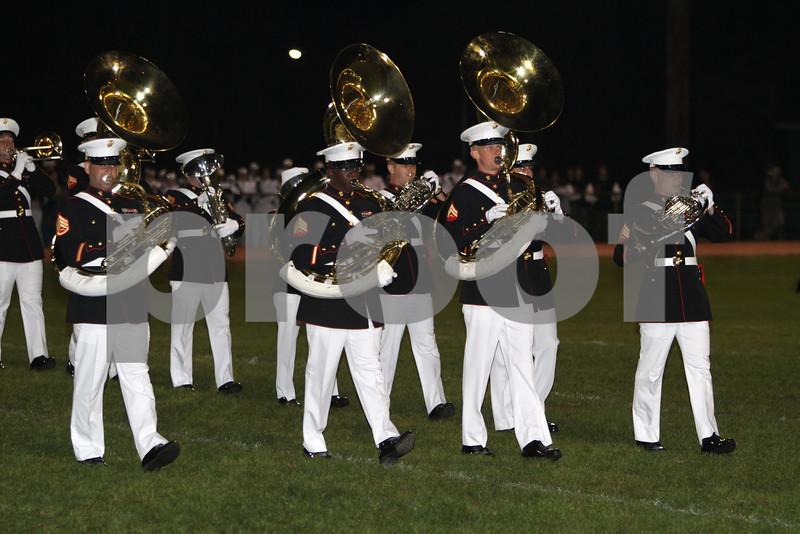 Albany, georgia Marine Marching band #3  10-16-10