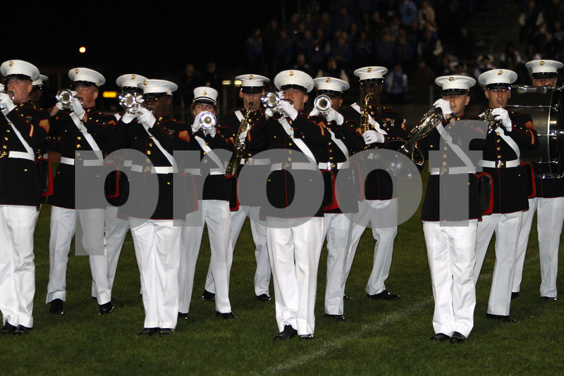 Albany georgia Marine marching Band #2  10-16-10  Dan Massa