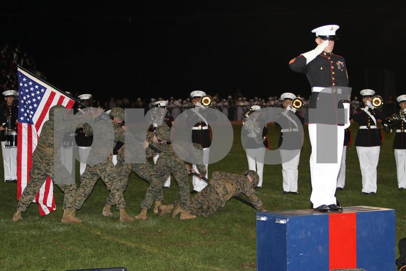 Albany georgia Marine Marching band #4  Iwo jima renactment  10-16 Dan Massa