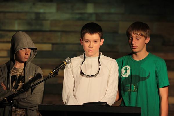 Ben's Baptism 2013