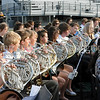 Members of the Carroll Band played at the graduation ceremonies last Thursday evening at Dragon Stadium.