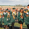 Caps were flying during graduation ceremonies last Thursday evening at Dragon Stadium.