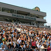 The stands were filled with family and friends at the Carroll graduation ceremonies last Thursday evening at Dragon Stadium.