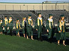Carroll graduates parade into Dragon Stadium at the start of the 2011 Commencement ceremonies.