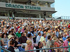 The stands were full with parents, grandparents, family and friends at the 2011 Commencement ceremonies at Dragon Stadium.