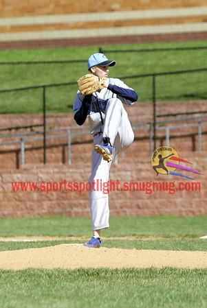 R Montgomery @ Clarksburg Var Baseball 2012