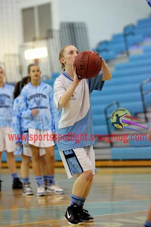 Northwest @ Clarksburg Girls JV BB 2011-12