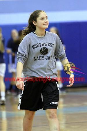 Northwest @ Clarksburg Girls Varsity Basketball 2013