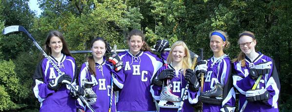 Holy Cross Girls Hockey 2013
