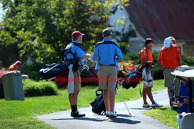 Clarksburg vs Rockville and Poolesville and Blake Varsity Golf
