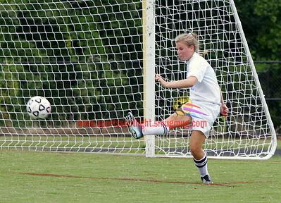 Damascus @ Clarksburg JV Girls Soccer 2012
