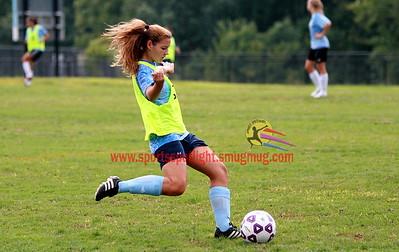 Gaithersburg @ Clarksburg Girls Varsity Soccer Scrimmage