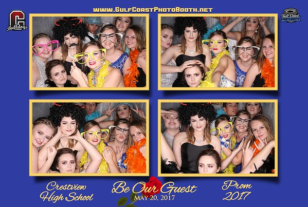 Crestview Prom 2017 Photo Booth