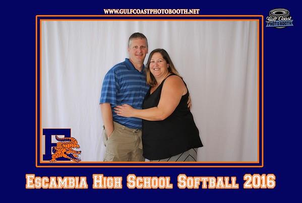 Escambia High School Softball 2016 Photo Booth Prints