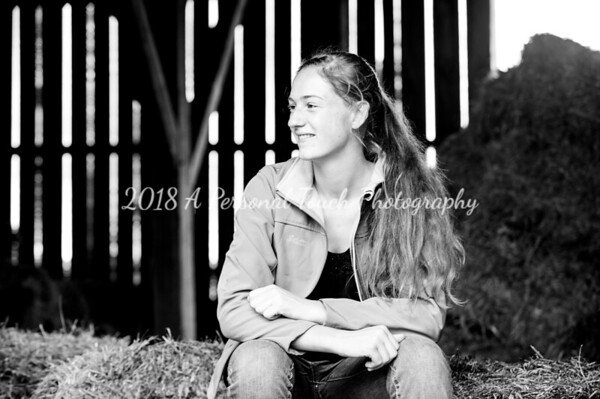 Brietta's senior pictures