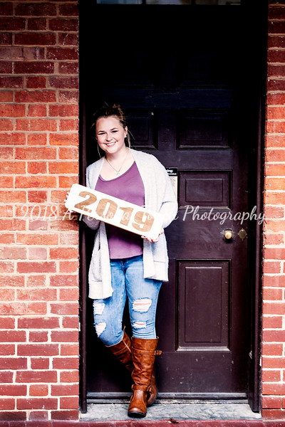 Carley's senior pictures 2018