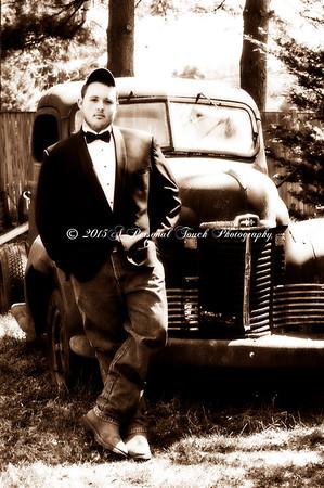 Josh's senior  picture