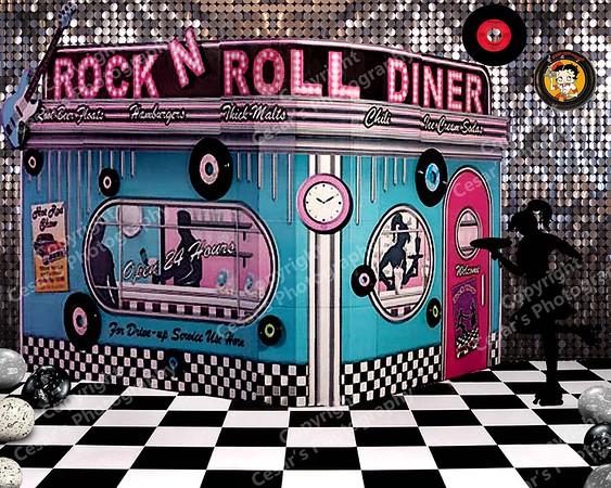 50's Rock-n-Roll Diner (H)