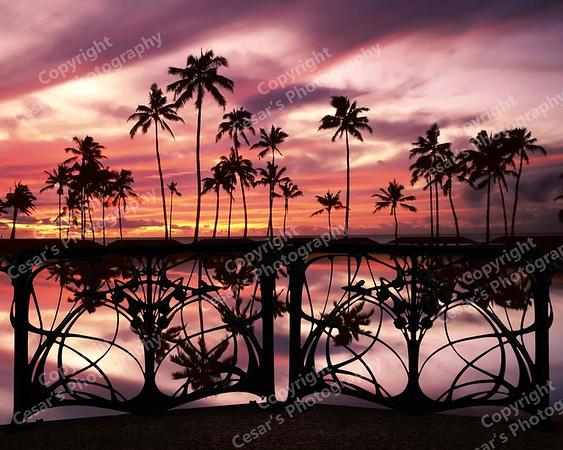 Hawaii at Sunset (H)