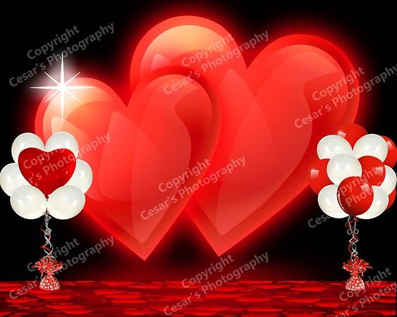 Valentine Hearts Ball (H)