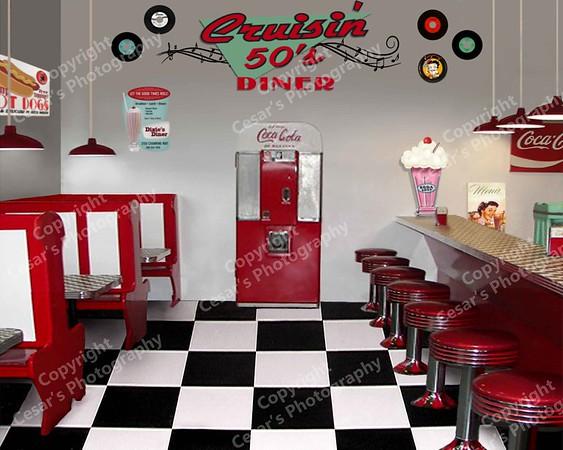 50's  Cruisin Diner (H)