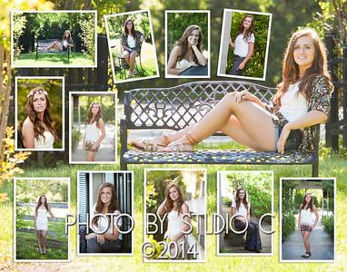 Lindsay 11x14 collage