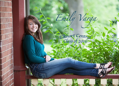 front of emily invite
