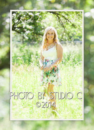 front of Kayla invite