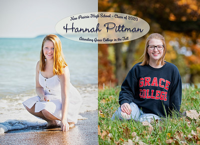 Front of Hannah's invite