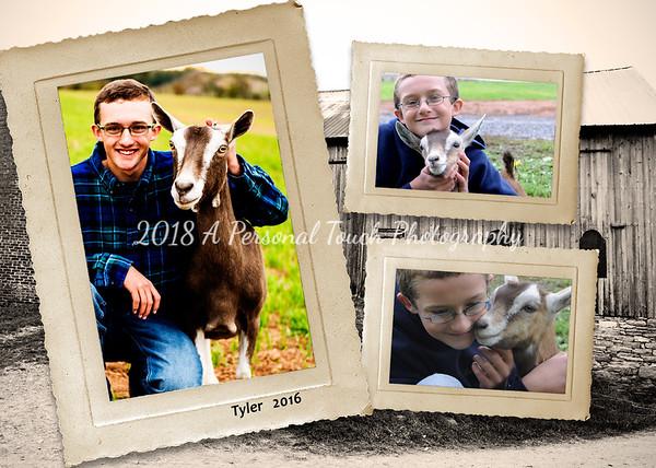 Tyler's senior pictures