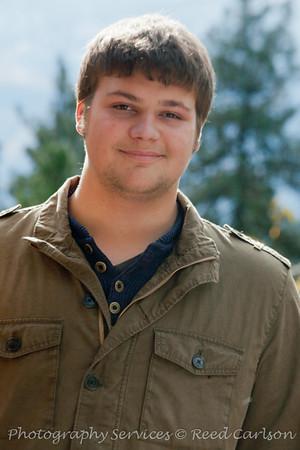 Zack Select Senior Portraits
