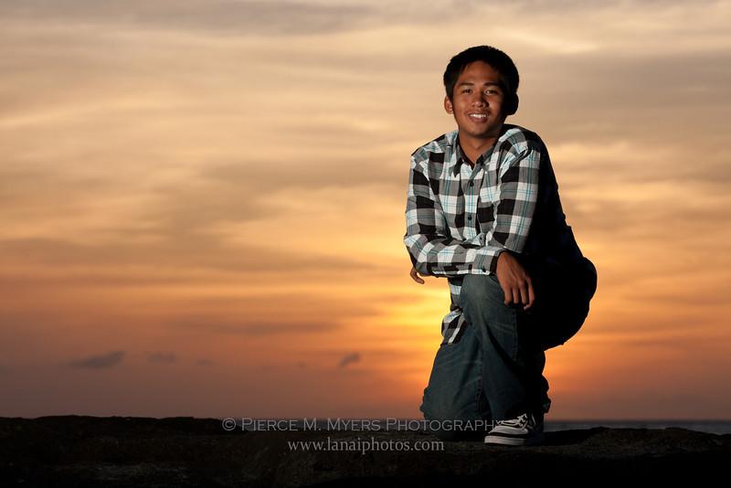 Lanai High and Elementary School Class of 2010 senior portrait