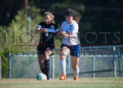 Girls Soccer (second half) Arcata @ Del Norte 09-07-16